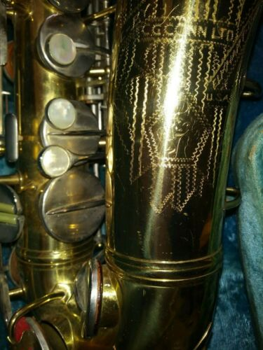 Vintage Conn alto sax naked lady saxophone 1953 with accessories & case