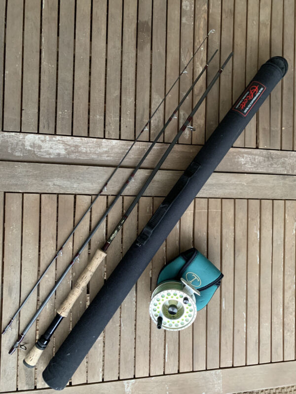 Fly Fishing Rod And Reel: Scott 12 Wt And Tibor Gulfstream