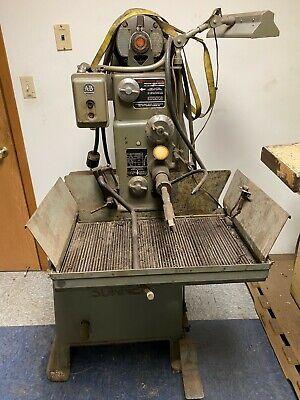 Sunnenprecision Honing Machine Model Mbb-1600 Ms Food Pedal Controlled