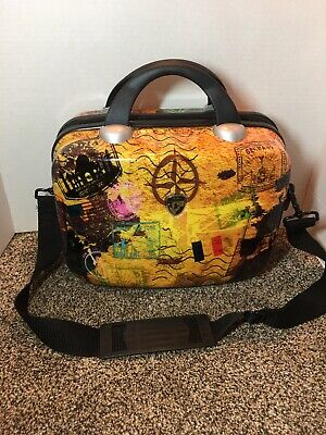 Heys USA Luggage Carryon Compass Britto Hardside Beauty Case