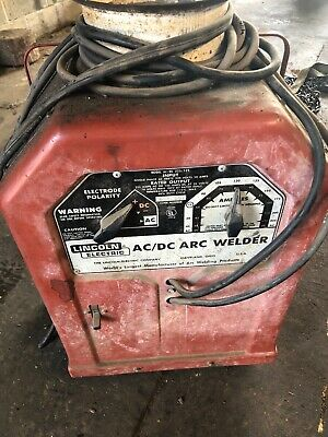 Lincoln Electric Arcstick Welder Acdc 225125 Single Phase - 230 Volt