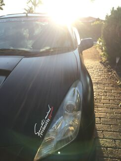 Toyota celica 2001 Matt Black full TRD bodykit Wetherill Park Fairfield Area Preview
