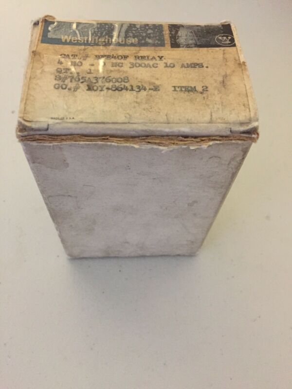 WESTINGHOUSE BFE40F Relay S#:765A376G08