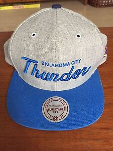 Oklahoma CityThunder - NBA flat top hat - adjustable fit Surry Hills Inner Sydney Preview