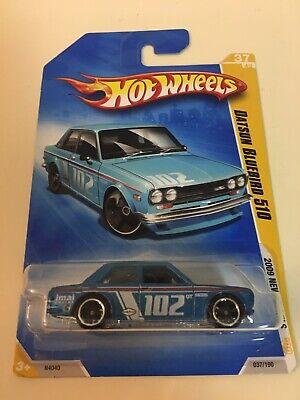 Hot Wheels Datsun Bluebird 510 New Model Blue