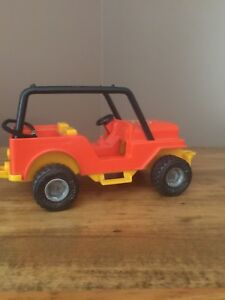 Vintage 1977 Fisher Price Jeep Northwoods Trailblazer Adventure