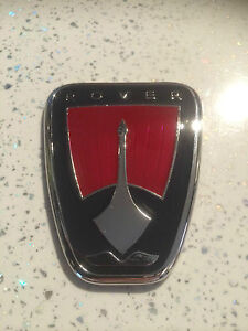 rover 75 front grille replacement badge