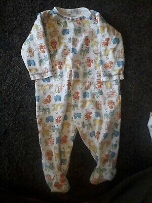 Boys 3-6 months sleepsuits KISSY KISSY BRAND