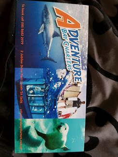 Shark cage diving voucher