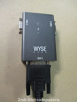 Wyse DV20 2x Ports DVI to Dual VGA adapter with cable E119932-T 920304-01L