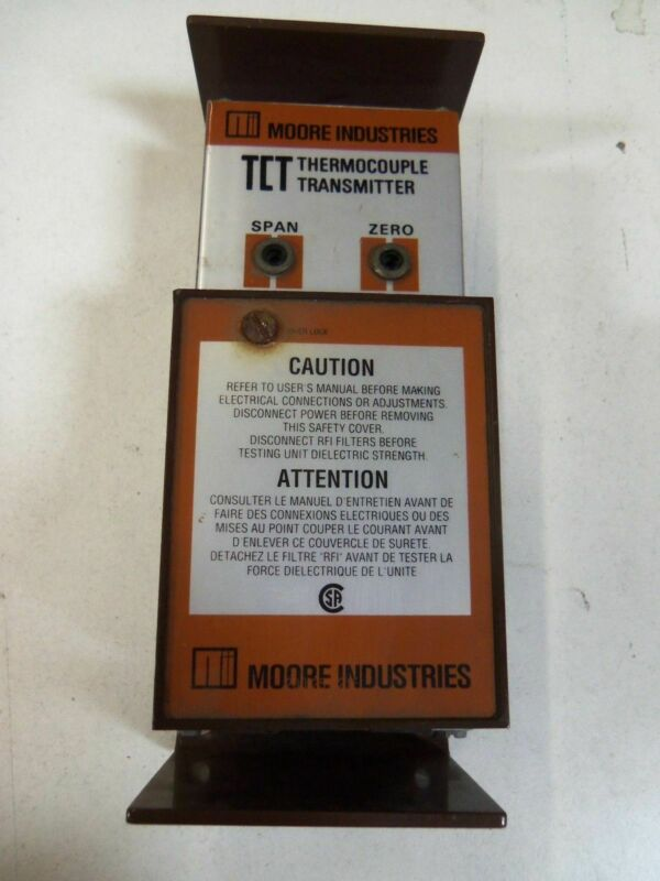 MOORE 200-236-20E THERMOCOUPLE TRANSMITTER *USED*