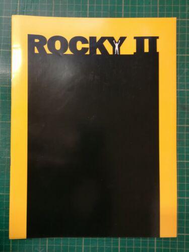 Rocky II Souvenir Program; Stallone, Meredith Burgess