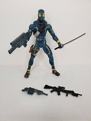 "MARVEL LEGENDS 6"" DEADPOOL (X-MEN SUIT) FIGURE TRU EXCLUSIVE 2-PACK 2010 blue"