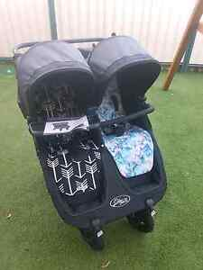 Double City Mini GT  pram - twin  (Baby Jogger) Grange Charles Sturt Area Preview