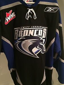 New Swift Current Broncos jersey