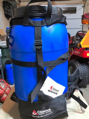 50L Liter Bear Barrel Food & Chinook backpack harness 13 gallon Camping Canoeing