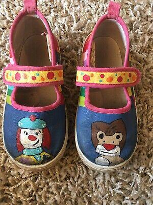 Toddler Clown Shoes (Vintage Jojo Circus Toddler Clown Shoes)