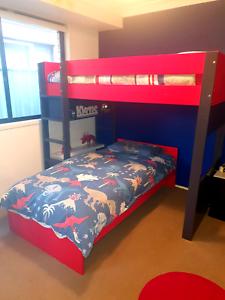 Modular Single Bunk Beds