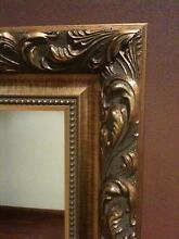 Elaborate Mirror, custom made as new. Kurrajong Hawkesbury Area Preview