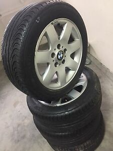 BMW Rims with tires will fit other cars to