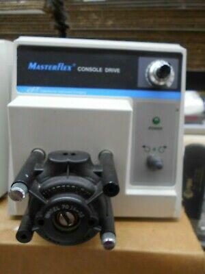 Cole Parmer Masterflex 77521-50 Console Drive 7014-52 Peristaltic Pump Head