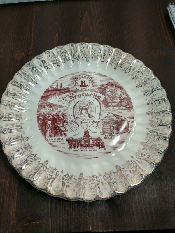 Vintage Commonwealth Of Kentucky Collector Plate