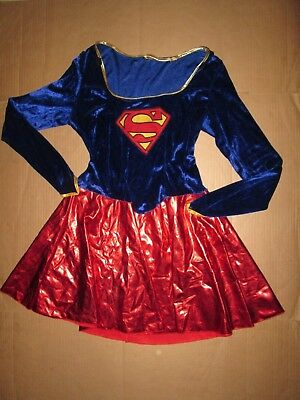 Halloween Superwoman Costume (Womens SEXY SUPER WOMAN Halloween Costume L)