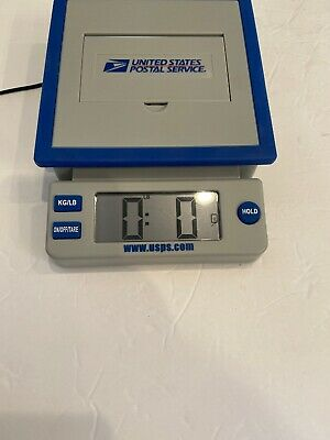 Usps 10 Lb Postal Service Scale Kglb Digital Display Power Adapter
