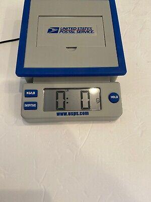 Usps 10 Lb Postal Service Scale Kglb Digital Display Power Adapter
