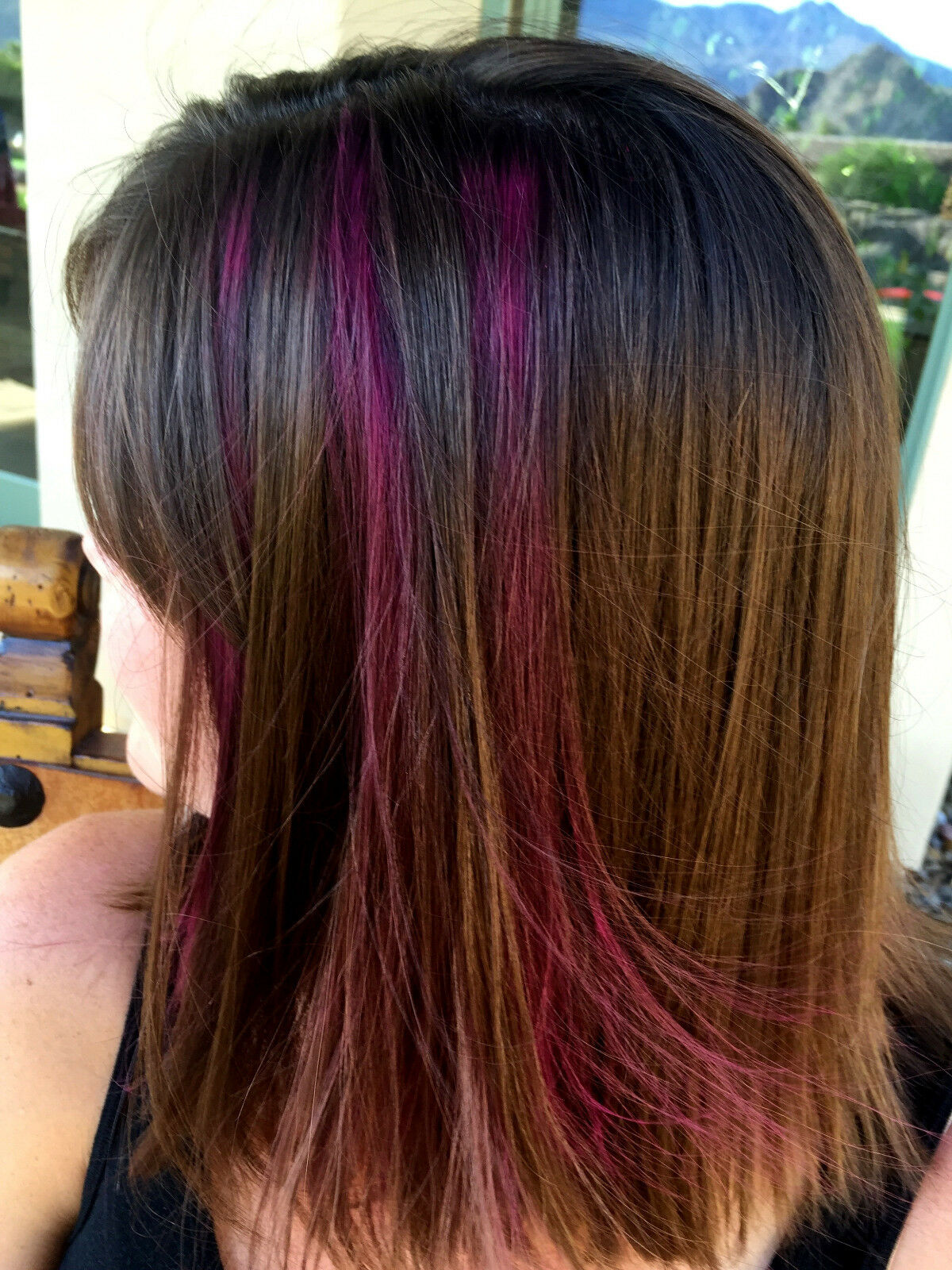 Temporary Pink or Blue or Purple Hair Color- Shampoos Out