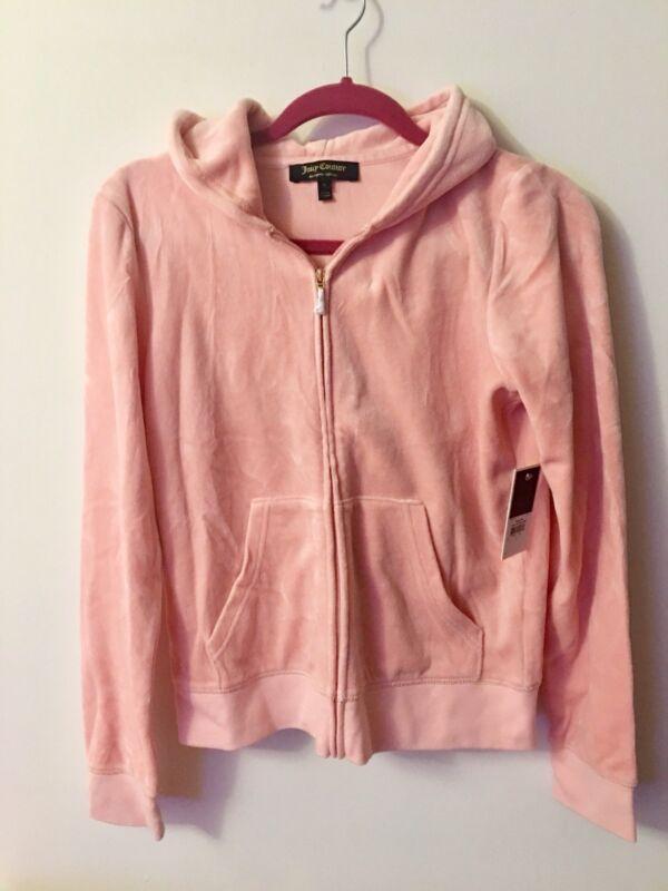 Juicy Couture Womens' Pink Track Suit Hoodie Jacket-Pant-Set-Size M L