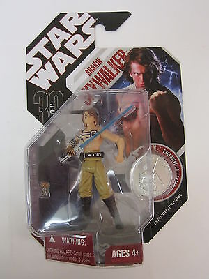 Hasbro Star Wars 30Th Anniversary Collection Anakin Skywalker Action Figure Coin