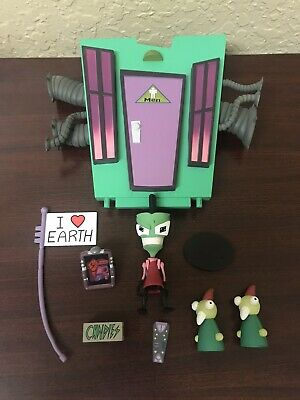 Palisades Toys INVADER ZIM Series TWO of DOOM! ZIM Human Disguise Loose Complete Invader Zim Human Disguise