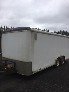 18 x 7 enclosed trailer