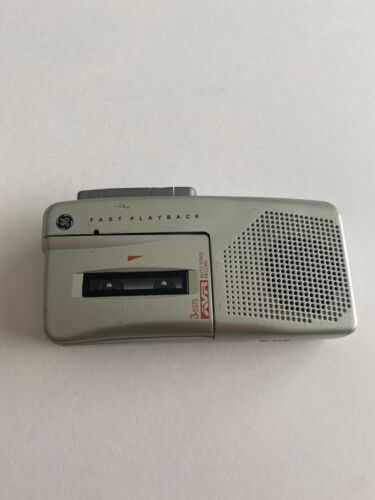 GE Auto Voice Recorder AVR 3-5377A Fast Playback Microcassette - $19.99