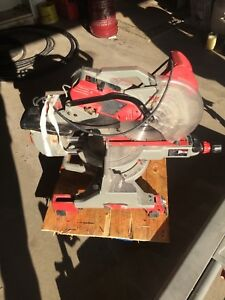 """Milwaukee 12"""" Miter Saw with Table"""
