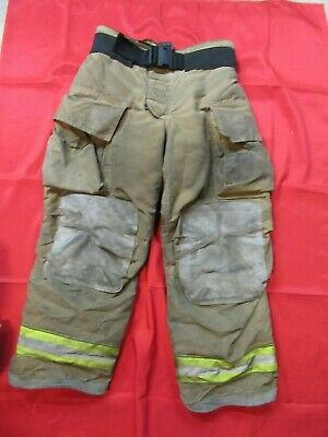Mfg. 2010 Globe Gxtreme 36 X 30 Firefighter Turnout Bunker Pants Fire Rescue