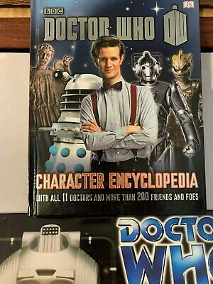 Doctor Who: Character Encyclopedia - Hardcover By Gibson, Annabel - EXCELLENT