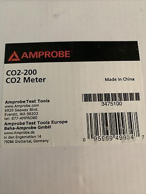 Amprobe Co2-200 Co2 Wall-mounted Meter New