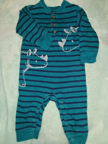Baby Boy 6 Months Carters Romper  - $1.36
