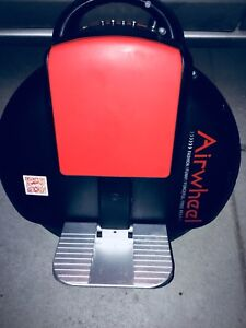 Used Airwheel black and white