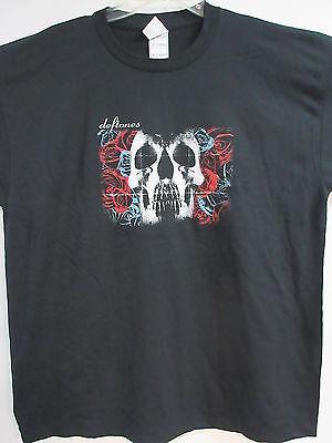 NEW - DEFTONES 2003 TOUR DATES BAND / CONCERT / MUSIC T-SHIRT EXTRA LARGE