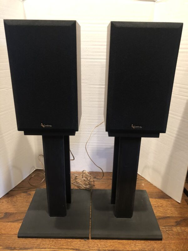 Black speaker stand - sold as pair