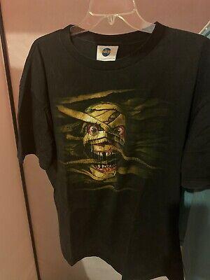 Halloween Horror Nights T Shirts (Rare Vintage 1999 Mummy Universal Studios Halloween Horror Nights T-shirt)