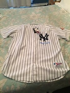 Roger Clemens Signed Yankees Baseball Jersey