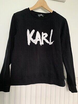 karl lagerfeld sweatshirt Size S Black