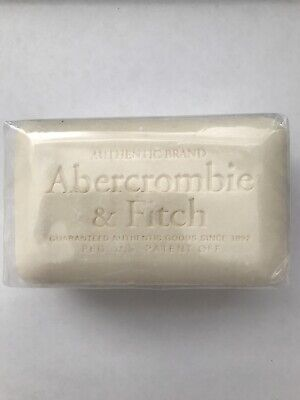 New Abercrombie & Fitch Signature Classic Perfume Large Soap Bar Fragrance 6.9oz