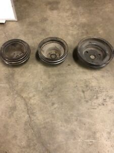 Misc small block Chevy pulleys