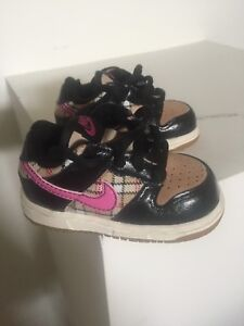 Baby girls Nike shoes.