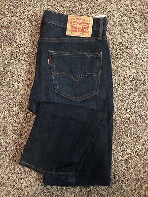 Levis 511 Slim Jeans Mens 31 x 32 Stretch Blue